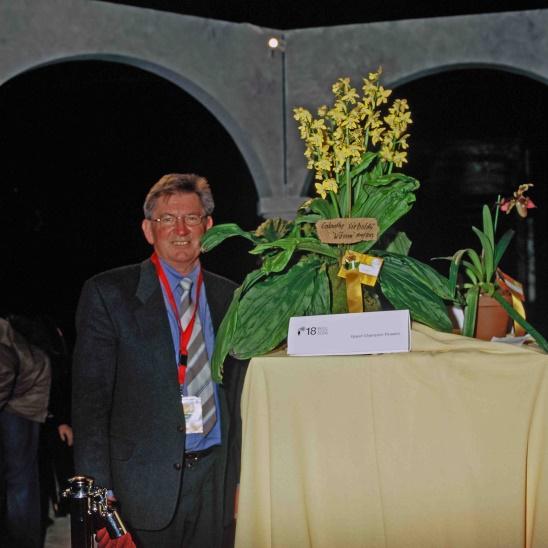 Franz Glanz bei einer Auszeichnung